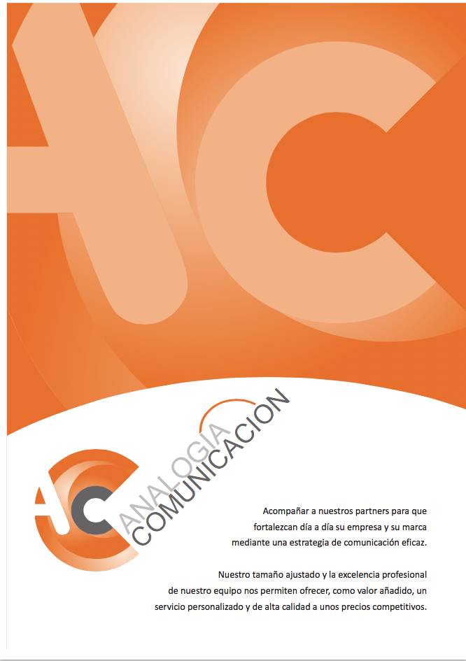 Credencials Analogía Comunicación